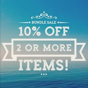 10% off 2 or more item bundles
